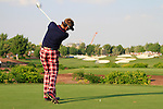 Ian Poulter drives off on the 15th hole during Day 3 of the Dubai World Championship, Earth Course, Jumeirah Golf Estates, Dubai, 27th November 2010..(Picture Eoin Clarke/www.golffile.ie)