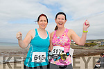 Emma Cunnane from Tralee and Mags O'Connor from Ardfert at the Ballyheigue 10k run or half marathon on Saturday