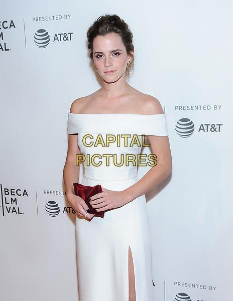 26 April 2017 - New York, New York - Emma Watson. &quot;The Circle&quot; screening at Tribeca Film Festival. <br /> CAP/ADM/MSA<br /> &copy;MSA/ADM/Capital Pictures