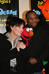 Another World's Linda Dano - A/W & Elmo & Kevin Clash at the opening night of John Tartaglia's Imaginocean, a new family undersea musical adventure on March 31, 2010 at New World Stages, New York City, New York. John Tartaglia's ImaginOcean is an interactive family show - a magical, musical undersea adventure for kids of all ages. Tank, Bubbles, and Dorsel are three best friends who just happen to be fish, and they're about to set out on a remarkable journey of discovery. And it all starts with a treasure map. As they swim off in search of clues, they'll sing, they'll dance, and they'll make new friends -- including everyone in the audience. Ultimately, they discover the greatest treasure of all -- friendship. Jam-packed with original music ranging from swing to R&B to Big Band, John Tartaglia's ImaginOcean is a blast rom the first big splash to the last wave goodbye. (Photo by Sue Coflin/Max Photos)