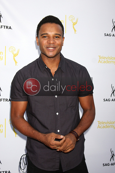 Marc Anthony Samuel<br /> at the Dynamic &amp; Diverse:  A 66th Emmy Awards Celebration of Diversity Event, Television Academy, North Hollywood, CA 11-12-14<br /> David Edwards/DailyCeleb.com 818-249-4998