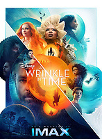 A Wrinkle in Time (2018) <br /> Promotional art with Reese Witherspoon, Oprah Winfrey, Mindy Kaling, Chris Pine, Storm Reid, Deric Mccabe &amp; Zach Galifianakis<br /> *Filmstill - Editorial Use Only*<br /> CAP/MFS<br /> Image supplied by Capital Pictures