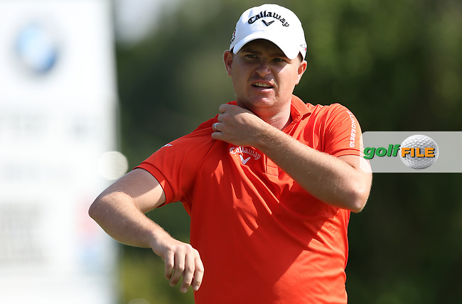 No chip or weight on his shoulder, James Morrison (ENG) shot a 66 and just behind the leader during Round Two of the 2015 BMW International Open at Golfclub Munchen Eichenried, Eichenried, Munich, Germany. 26/06/2015. Picture David Lloyd | www.golffile.ie