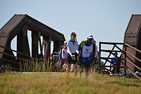 Cheyenne Knight (USA) makes her way across the bridge near the tee on 2 during the round 3 of the Volunteers of America Texas Classic, the Old American Golf Club, The Colony, Texas, USA. 10/5/2019.<br /> Picture: Golffile   Ken Murray<br /> <br /> <br /> All photo usage must carry mandatory copyright credit (© Golffile   Ken Murray)