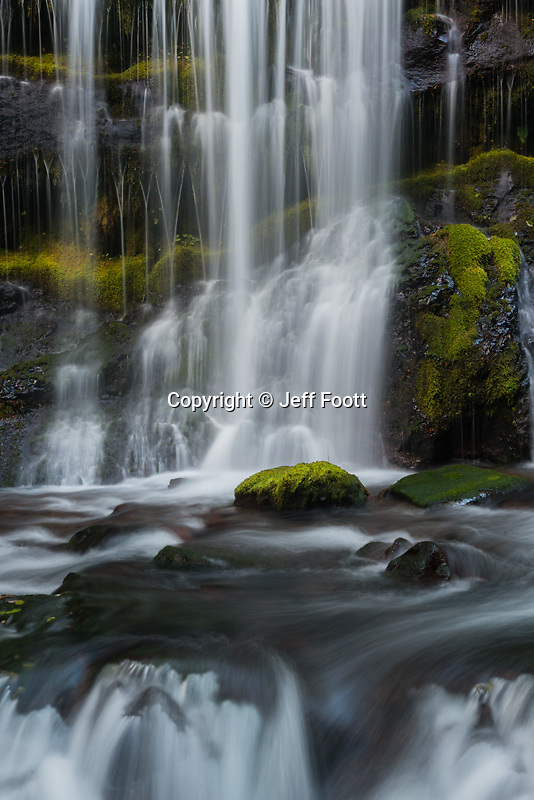 Panther Falls, Columbia River Gorge, Washington, WA