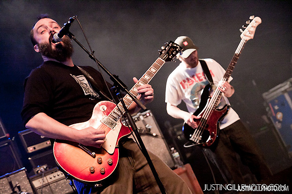 Live concert photo of Clutch @ Congress Theater Chicago by http://www.justingillphoto.com