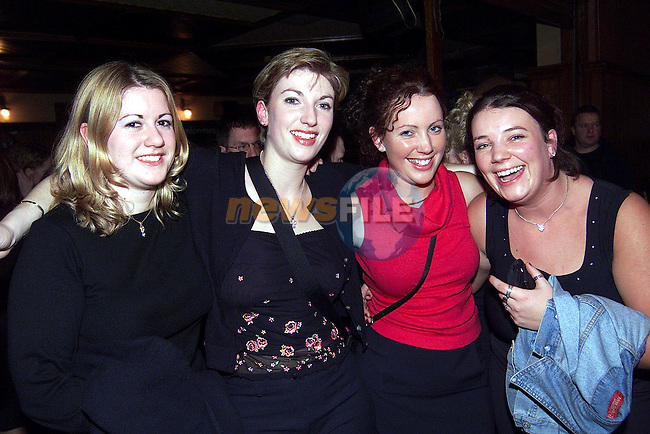 Sharyn Mee, Minnistown, Grainne McGlew, Eimear Reilly and Sinead Reilly all Termonfeckin pictured in McPhails over the weekend..Picture: Paul Mohan/Newsfile