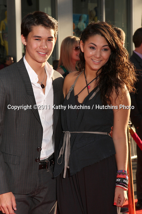 """LOS ANGELES - MAY 2:  BooBoo Stewart, Fivel Stewart arriving at the """"Thor"""" World Premiere at El Capitan theater on May 2, 2011 in Los Angeles, CA"""