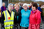 Marian Williams (Blennerville), Anne Houlihan (Tralee) Sharon Williams (Blennerville) and June O'Donoghue (Ballyard, Tralee), pictured at the Operation Transformation Walk at Tralee Bay Wetlands on Saturday morning last.
