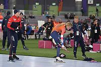 SPEEDSKATING: HAMAR: Vikingskipet, 28-02-2020, ISU World Speed Skating Championships, Sprint, 500m Ladies, Jutta Leerdam (NED), ©photo Martin de Jong