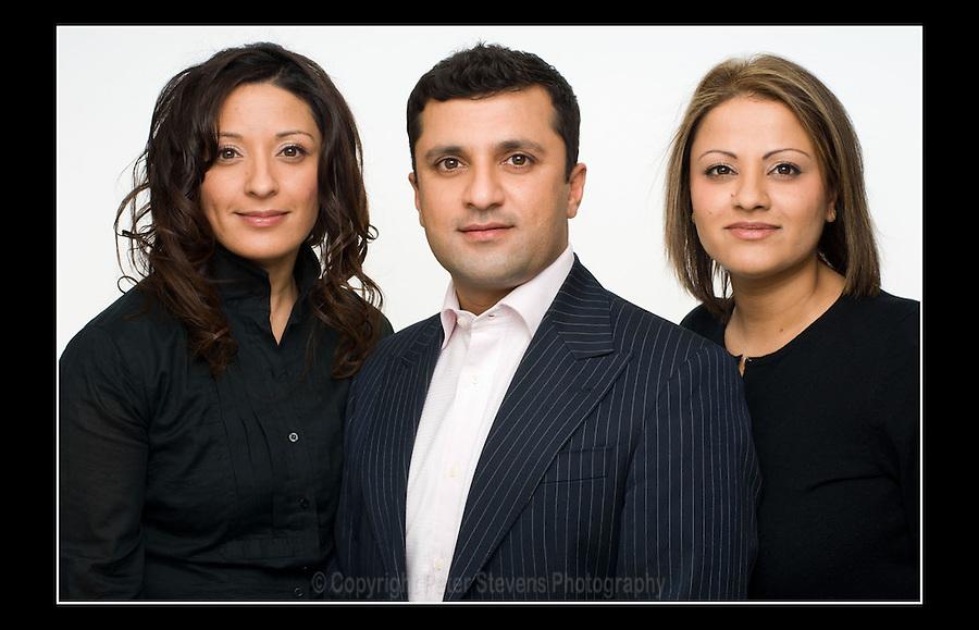 Fingerprint Events - Shama, Azahar & Farzana - Southampton Row, London WC1 - 17th December 2007