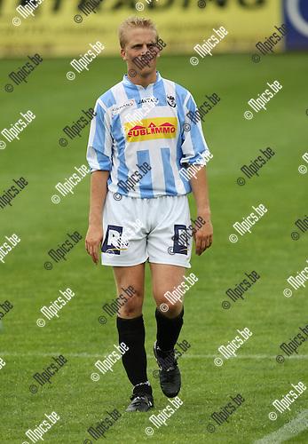2009-07-19 / voetbal / seizoen 2009-2010 / Verbr. Geel-Meerhout / Geert Cochet ..Foto: Maarten Straetemans (SMB)