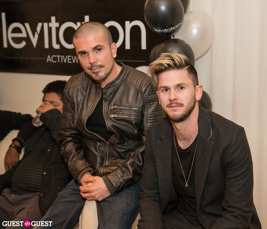 Erik Rosete and Tyler McDaniel attend Levitation Activewear presents Sean Scott's Birthday Bash at SKYBAR on Dec. 17, 2015 (Photo by Inae Bloom/Guest of a Guest)