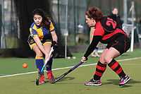 Upminster HC Ladies 4th XI vs Havering HC Ladies 3rd XI, Essex Women's League Field Hockey at the Coopers Company and Coborn School on 9th February 2019