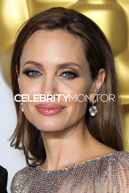 HOLLYWOOD, LOS ANGELES, CA, USA - MARCH 02: Angelina Jolie at the 86th Annual Academy Awards - Press Room held at Dolby Theatre on March 2, 2014 in Hollywood, Los Angeles, California, United States. (Photo by Xavier Collin/Celebrity Monitor)