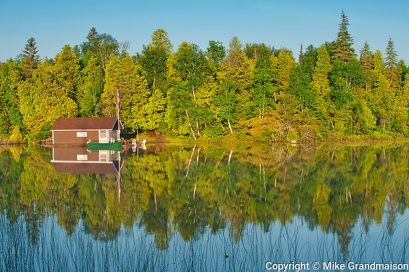 Cottage on Snake Island Lake (Cassels Lake)<br />Temagami<br />Ontario<br />Canada