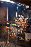 INDONESIA, Flores, the kitchen of our guides home in Tal