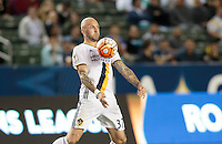 Carson, CA. - February 24, 2016:  The LA Galaxy and Santos Laguna played to a 0-0 draw in CONCACAF Champions League play in the first leg of quarter finals at StubHub Center.