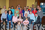 BIG: Big Birthdy for Teresa Lean who celebrated her 60th Birthday with family and friends in the Grand Hotel, Tralee on Friday evening (Teresa is seated 4th from left).