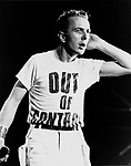 The Clash Joe Strummer  1983.