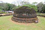 UNESCO World Heritage Site, the ancient city of Polonnaruwa, Sri Lanka, Asia - ruins at Potgul Vihara site