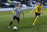 Sander Puri in the St Mirren v Falkirk Clydesdale Bank Scottish Premier League Under 20 match played at St Mirren Park, Paisley on 30.4.13.