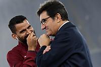 Tomas Rincon of Torino FC , Urbano Cairo president of Torino FC <br /> Roma 30-10-2019 Stadio Olimpico <br /> Football Serie A 2019/2020 <br /> SS Lazio - Torino FC<br /> Foto Andrea Staccioli / Insidefoto