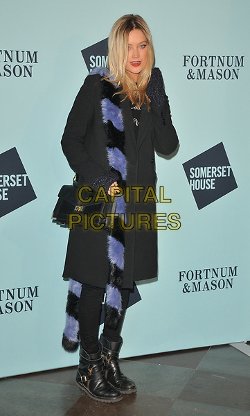 Laura Whitmore at the Skate at Somerset House wtih Fortnum &amp; Mason VIP launch party, Somerset House, The Strand, London, England, UK, on Tuesday 14 November 2017.<br /> CAP/CAN<br /> &copy;CAN/Capital Pictures