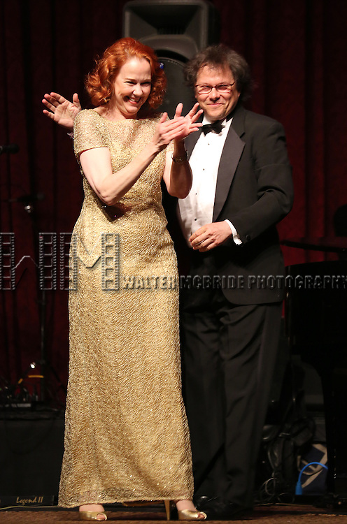 Harriet Harris; Brad Ross  during the Celebration Gala Presentation honoring the 100th Anniversary of Actors' Equity Association at the Hilton Hotel in New York City on June 17, 2013