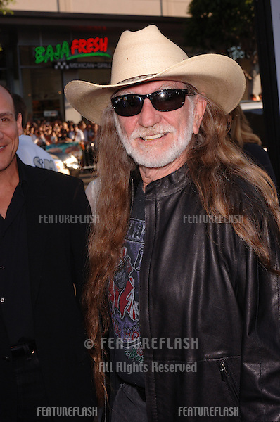 Actor/singer WILLIE NELSON at the Los Angeles premiere of his new movie The Dukes of Hazzard..July 28, 2005 Los Angeles, CA.© 2005 Paul Smith / Featureflash