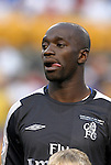 29 July 2004: Claude Makelele. Chelsea of the English Premier League defeated AS Roma of La Liga at Heinz Field in Pittsburgh, PA in a ChampionsWorld Series friendly match..