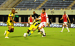 Alianza Petrolera igualó 1-1 ante Independiente Santa Fe. Fecha 4 Cuadrangulares II-2019.