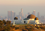 view of Griffith Park Observatory overlooking Los Angeles