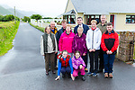 Glenbeigh residents whose houses are in danger of flooding welcomed the annoucement of funding to start work on defending their houses front l-r: Orla and Naoise Burke, back Carol Moore, Tom McNamara, Mark O'Sullivan, Nuala McNamara, Brendan Griffin TD, Joan Connors, Vera O'Sullivan, Ger Burke and Aidan McNamara