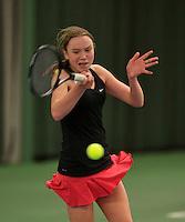 Rotterdam, The Netherlands, March 19, 2016,  TV Victoria, NOJK 14/18 years, Tessa Kwakkernaak (NED)<br /> Photo: Tennisimages/Henk Koster