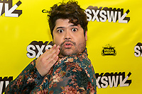 """AUSTIN, TX- MARCH 8: Harvey Guillen attends the SXSW world premiere of FX's """"What We Do in the Shadows"""" at the Paramount Theater on March 8, 2019 in Austin, Texas. (Photo by Stephen Spillman/FX/PictureGroup)"""