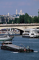 Europe/France/Ile-de-France/75015/Paris : Le pont Iéna et le Sacré Coeur