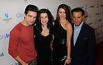 """LOS ANGELES, CA. - March 15: Steven Strait, Julianna Margulies, Dominik Garcia-Lorido and Andy Garcia arrive at the Los Angeles premiere of """"City Island"""" held at Westside Pavillion Cinemas on March 15, 2010 in Los Angeles, California."""