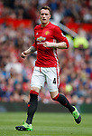Phil Jones of Manchester United during the English Premier League match at the Old Trafford Stadium, Manchester. Picture date: May 21st 2017. Pic credit should read: Simon Bellis/Sportimage