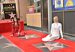 Irina Menzel, Kristen Bell -Star WofF 032 ,  Kristen Bell And Idina Menzel  Honored With Stars On The Hollywood Walk Of Fame on November 19, 2019 in Hollywood, California