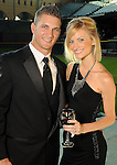Brandon and Shawn Barnes at the Astros Wives' Gala at Minute Maid Park Thursday Aug. 16, 2012.(Dave Rossman/For the Chronicle)