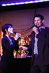 """As The World Turns Colleen Zenk stars in her one-woman cabaret show """"Colleen Zenk - Still Sassy"""" with special guest Trent Dawson on October 30, 2011 at Feinstein's at Loews Regency, New York City, New York. They sang together and shared stories.  (Photo by Sue Coflin/Max Photos)"""