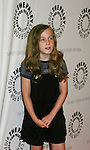 Isabella Convertino (Liz Keifer's daughter at the Goodbye to Guiding Light, 72 Years Young event on August 19, 2009 at the Paley Center for Media, NYC, NY. (Photo by Sue Coflin/Max Photos)