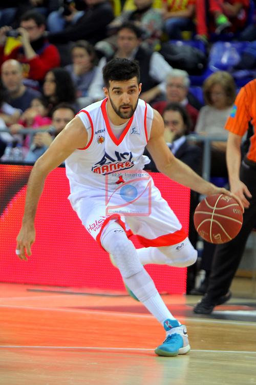 League ACB-ENDESA 2016/2017 - Game: 21.<br /> FC Barcelona Lassa vs ICL Manresa: 92-72.<br /> Cvetkovic.