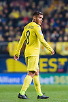 Jonathan Dos Santos of Villarreal CF looks on during their La Liga match between Villarreal and FC Barcelona at the Estadio de la Cerámica on 08 January 2017 in Villarreal, Spain. Photo by Maria Jose Segovia Carmona / Power Sport Images