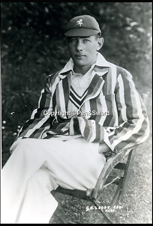 BNPS.co.uk (01202 558833)<br /> Pic: Pen&Sword/BNPS<br /> <br /> Lieutenant Geoffrey Bevington Legge was 'The first test cricketer to be killed in the war', he made 147 first class appearances and served in the Royal Naval Air Service he died 21 November 1940, aged 37.<br /> <br /> The tragic stories of the 10 test players and 130 first class cricketers who lost their lives in the Second World War are told in a fascinating new book.<br /> <br /> The outbreak of the war prompted cricketers to swap their whites for uniform and pitch up at the various battlegrounds of the conflict to do their duty.<br /> <br /> Many cricketers excelled themselves in combat - distinguishing themselves with their bravery and their intelligence.<br /> <br /> In The Coming Storm, screenwriter Nigel McCrery reveals each man's career details, including cricketing statistics and the circumstances of death.