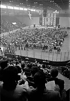 Rassemblement de l'union nationale, 26 mai 1973, a l'Arena Paul-Sauve<br /> <br /> PHOTO :  Agence Quebec Presse - Alain Renaud
