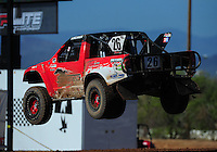 Apr 16, 2011; Surprise, AZ USA; LOORRS driver Wyatt Kirchner (26) during round 3 at Speedworld Off Road Park. Mandatory Credit: Mark J. Rebilas-.