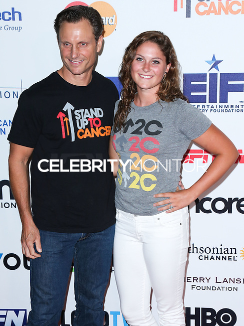 HOLLYWOOD, LOS ANGELES, CA, USA - SEPTEMBER 05: Tony Goldwyn, Tess Frances Goldwyn arrives at the 4th Biennial Stand Up To Cancer held at Dolby Theatre on September 5, 2014 in Hollywood, Los Angeles, California, United States. (Photo by Xavier Collin/Celebrity Monitor)