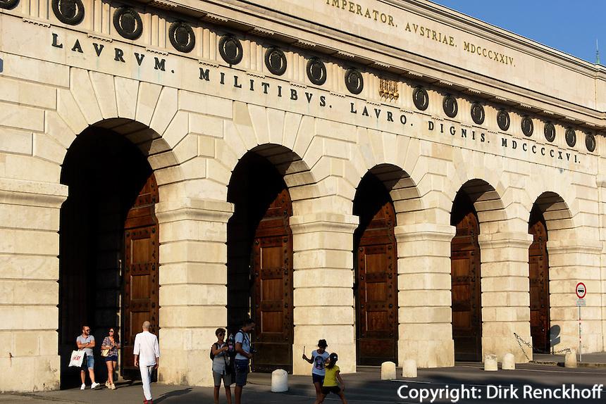 Burgtor am Burgring, Wien, Österreich, UNESCO-Weltkulturerbe